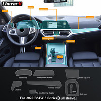 Self Healing Navigation Display Gear Protective Film Interior Screen Central Console Protector Sticker For BMW 3 Series G20 2019