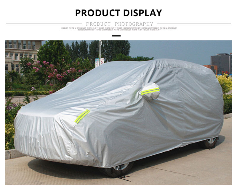 Full Car Cover Sedan SUV Covers Sun Reflective Shade Rain Frost Snow Dust Waterproof Protection Anti UV Outdoor Car Accessories (7)