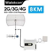 مكرر إشارة 8 كجم ، مضخم إشارة 2g ، 3g ، 4g ، GSM ، 900 ، 1800 ، 2100 mhz ، B8 ، B3 ، B1 ، UMTS ، 4G ، LTE ، للفيلا