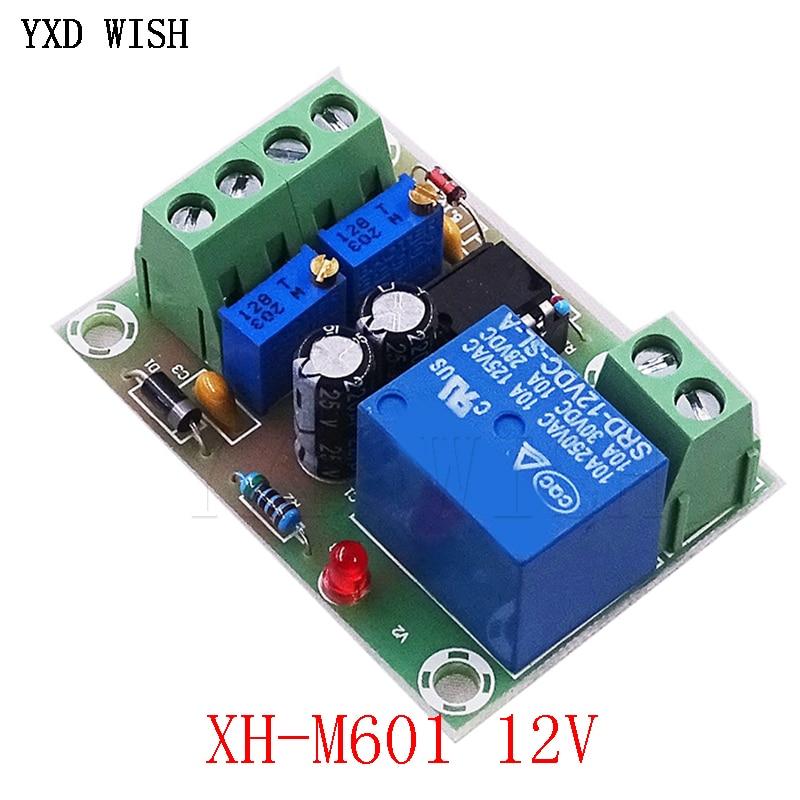 M601 12 V batterie charge tableau de commande XH M601 chargeur Intelligent panneau de commande d'alimentation charge automatique puissance 12 v 13.8 14.8V  