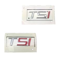 1ZD853675Pด้านหลังฝาปิด3D ABS TSIรถสติกเกอร์และรูปลอกสำหรับSkoda Octavia 2 3 A5 A7ยอดเยี่ยม2 3 2007 2008   2017 1ZD 853 675 N