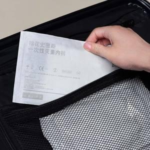 Image 5 - Xiaomi Youpin 5Pcs Disposable Sterileชุดชั้นในสำหรับผู้หญิงผู้ชายนักมวยกางเกงผ้าฝ้ายสบายชายแบนมุมกางเกงกางเกง