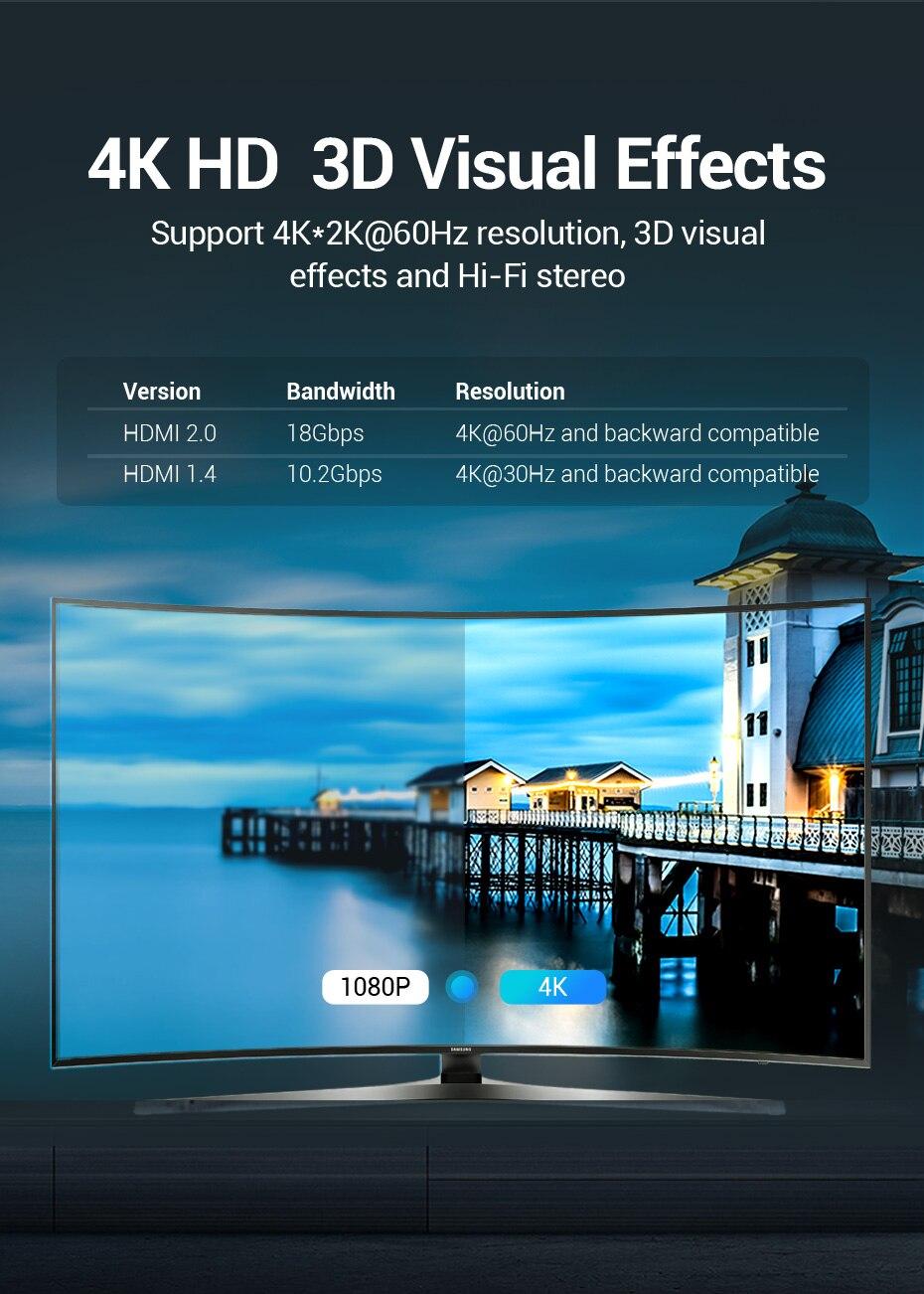4K HDMI Switch 2 Ports Bi-directional 1x2 / 2x1 HDMI Switcher Splitter Supports H4806a42ea38c40c8a57d11a77c9cb4b1T