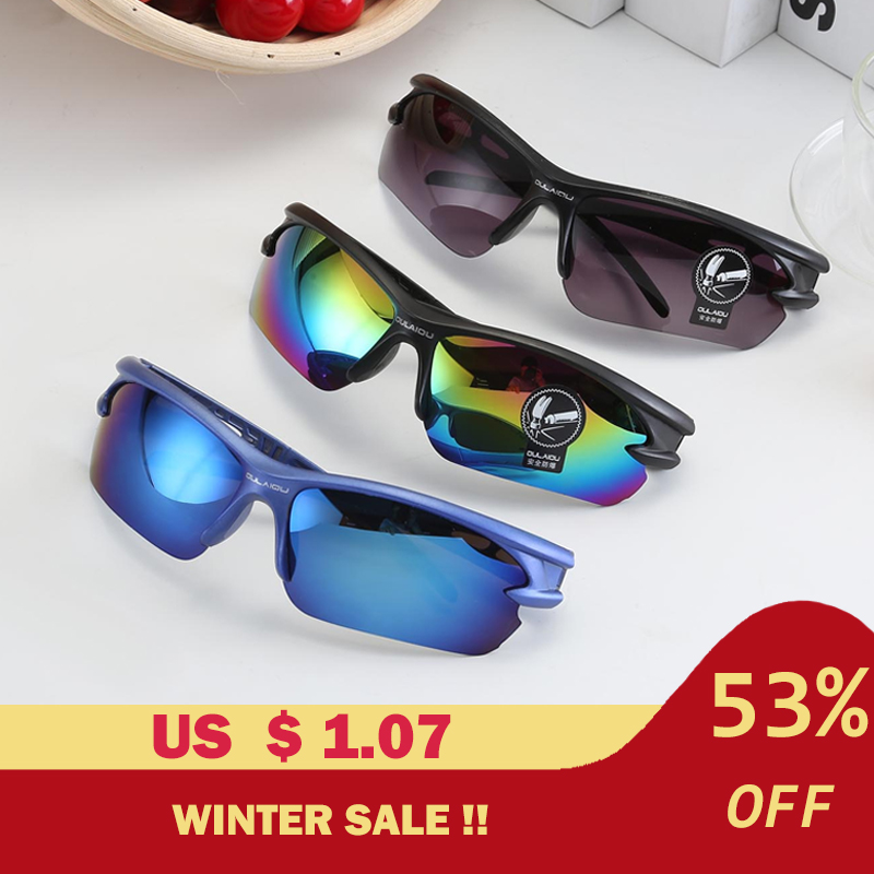 Cycling Eyewear Glasses Outdoor Sport Mountain Bike Sunglasses Explosion-proof UV 400 Sport Cycling Glasses Motorcycle Goggles