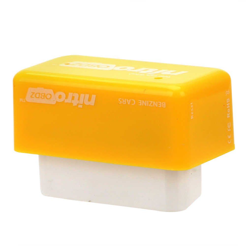 Lecteur de Code LEEPEE outils de numérisation de voiture pour Diesel/Benzine boîte de réglage de voiture Plug & Driver Nitro/Eco OBD2 outil de réparation de voiture à puce ECU