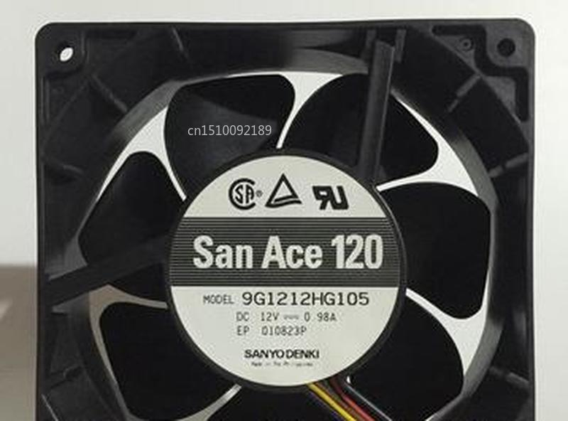 For SANYO San Ace 120 12cm 9G1212HG105 12v 0.98A 4-wire IBM Fan Free Shipping