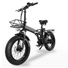 Electric bike 750W 48V15ah 45km/h Double battery electric mountain bike 4.0 fat tire Electric Bicycle beach E-bike