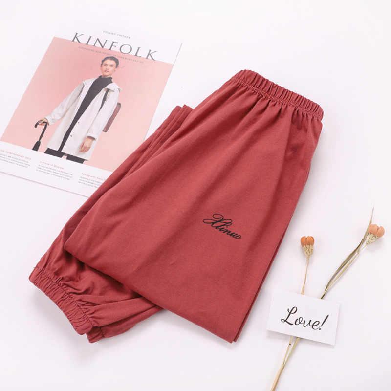 Pantalones De Pijama Mujer Pantalon Casual Largo Ropa De Dormir Suave Comodo Y Suelto Pantalon De Casa Ropa De Dormir Ropa