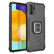 Armor Rugged Anti Fall Heavy Phone Case For Samsung Galaxy A32 A52 A72 A12 A51 A71 A41 A21 A31 4G 5G Potection Kickstand Cover