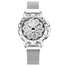 Часы наручные женские кварцевые водонепроницаемые с браслетом