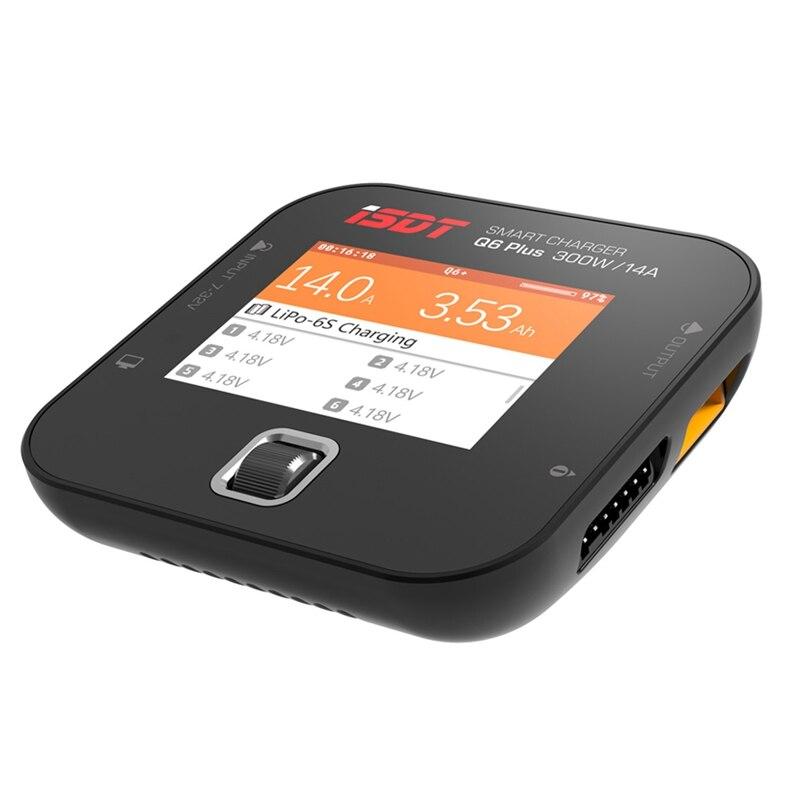 ISDT Q6 Lite/Plus/Pro 200/300W 14A MINI pour chargeur de batterie de poche pour pièces RC Version en langue anglaise