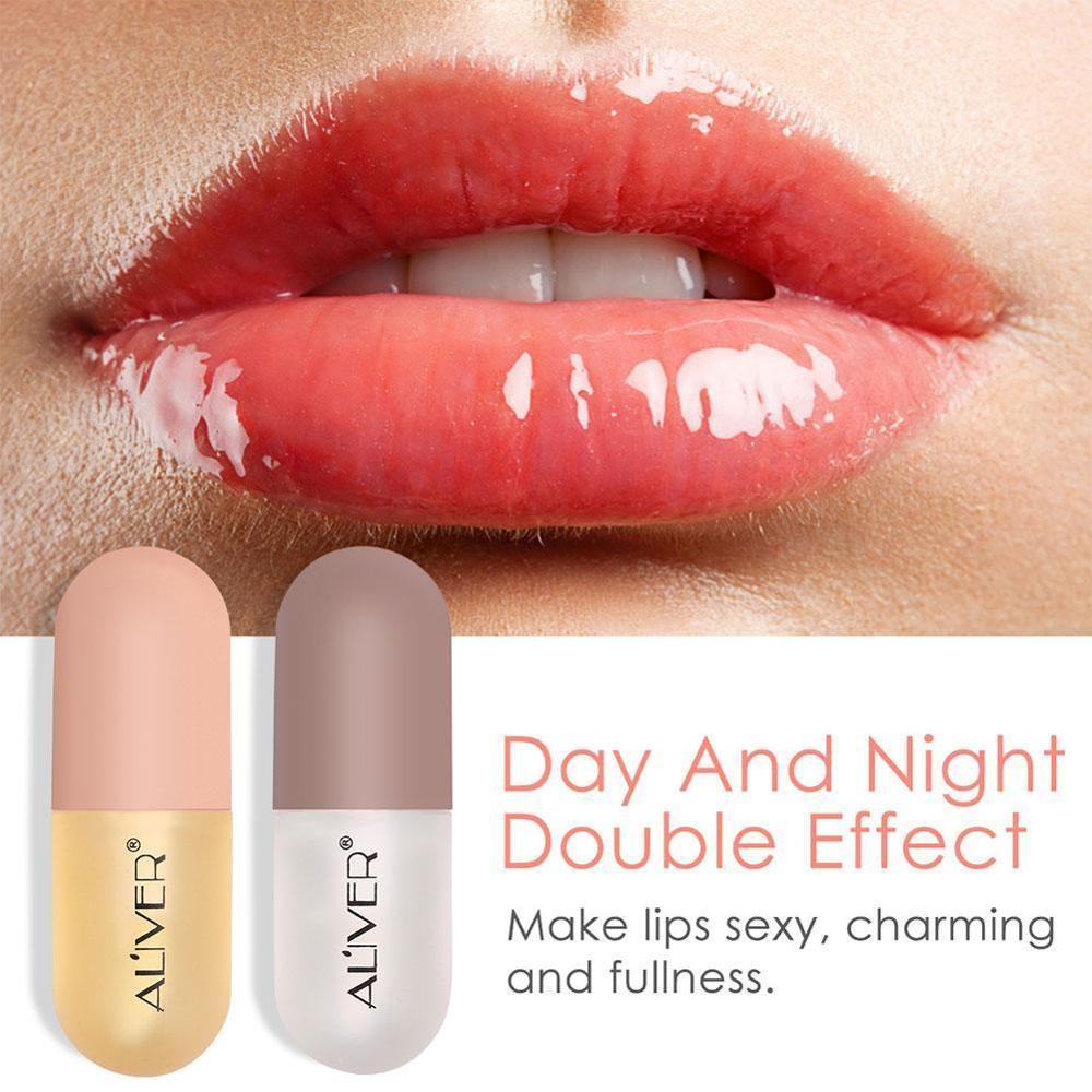 Lip Plumper Gloss Moisturizing Smooth Fine Lines Nourishing Lips Anti-Drying Lip Care Oil Mint Or Ginger