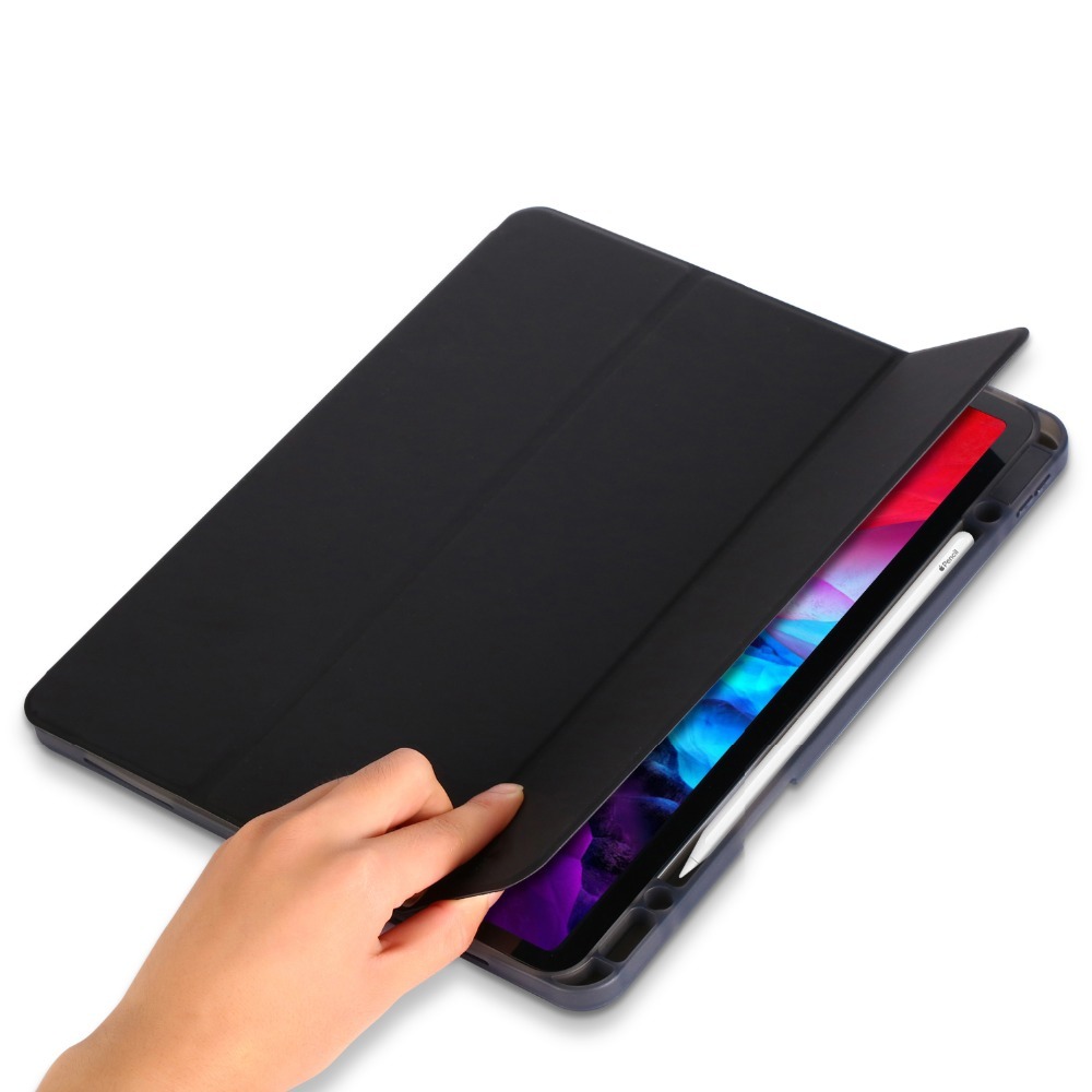 Pro 12.9 Tablet Solid Case 12.9 iPad for Smart iPad Cover 2020 Inch Funda Case Pro for