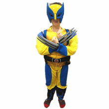 Child Wolverines Cosplay Costume Kids Boys Superhero Halloween/Carnival Cosplay Party Fancy Dress
