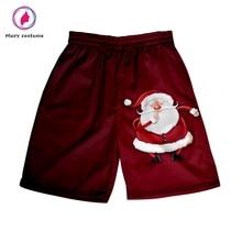 Christmas Shorts Men Harajuku Beach Shorts