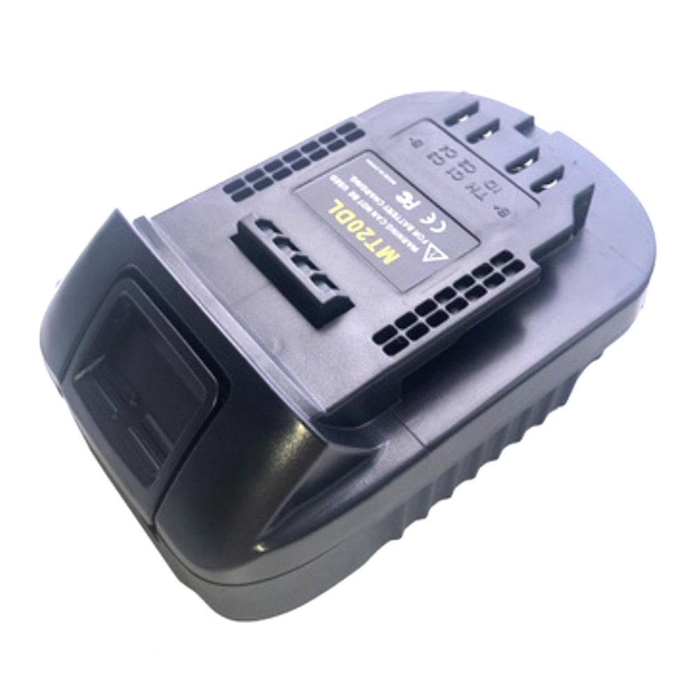 MT20DL Battery Adapter For Power Tools Portable 18V Lithium Battery Converter Power Tools Battery Adapter