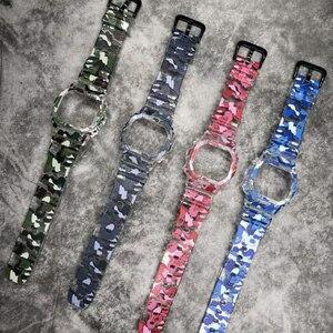 Полимерный ремешок для часов Casio G-SHOCK, Безель для часов DW5600 GW5600 DW5000/5035, прозрачный чехол для часов Casio DW-6900