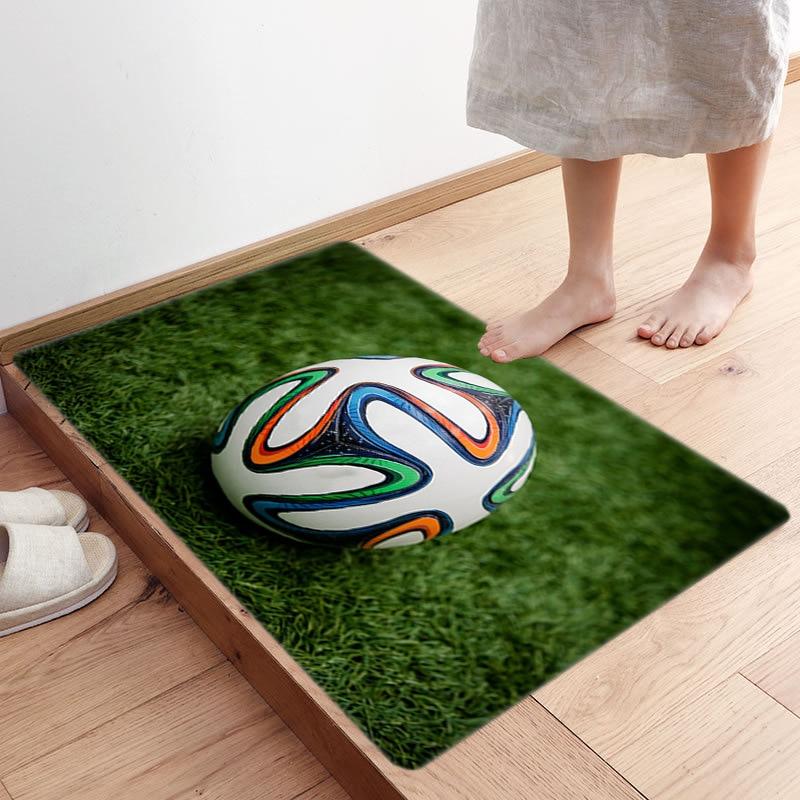 Modern Kids Room Carpet Gr Football