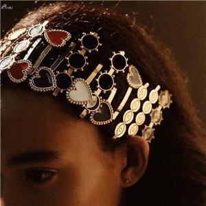 AOMU-1PC-Korea-Fashion-Heart-Tassel-Hairpins-Hair-Clips-for-Women-Vintage-Metal-Eye-Shape-Hairgrip