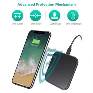 Image 3 - 15W Mirror Cover Wireless Charger For Samsung Note 10 Plus S10 Xiaomi Mi9 Huawei P30 Pro iPhone XR X XS Max 8 Phone Accessories