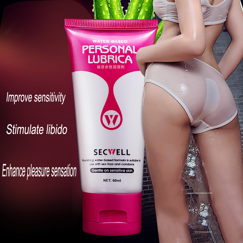 Sex Lubricant 60ml Anal Lubricant Thick Water-based Sex Oil Sex Tighten Vaginal Intercourse And Anal Gel Sex Products For Adults