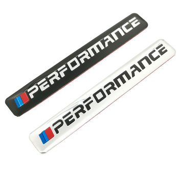 1PCS Car Decal Logo Badge Auto Emblem Sticker M Power Performance For BMW E28 E30 E34 E36 E39 E46 E53 E60 E61 E62 X1 X2 X3 X4 X5 image