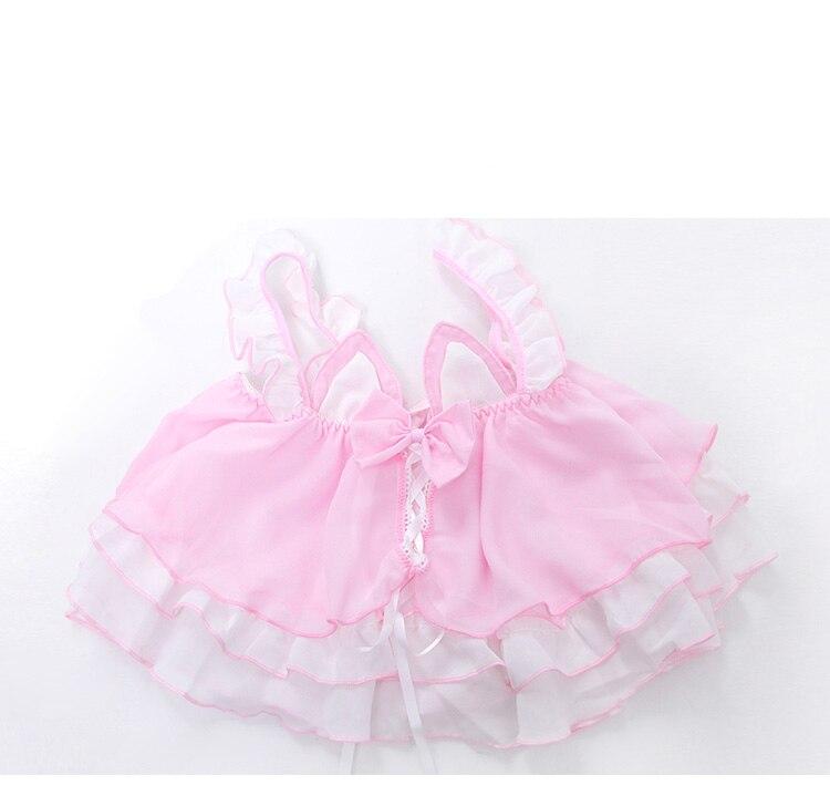 Купить комплект женского нижнего белья из аниме «лолита»