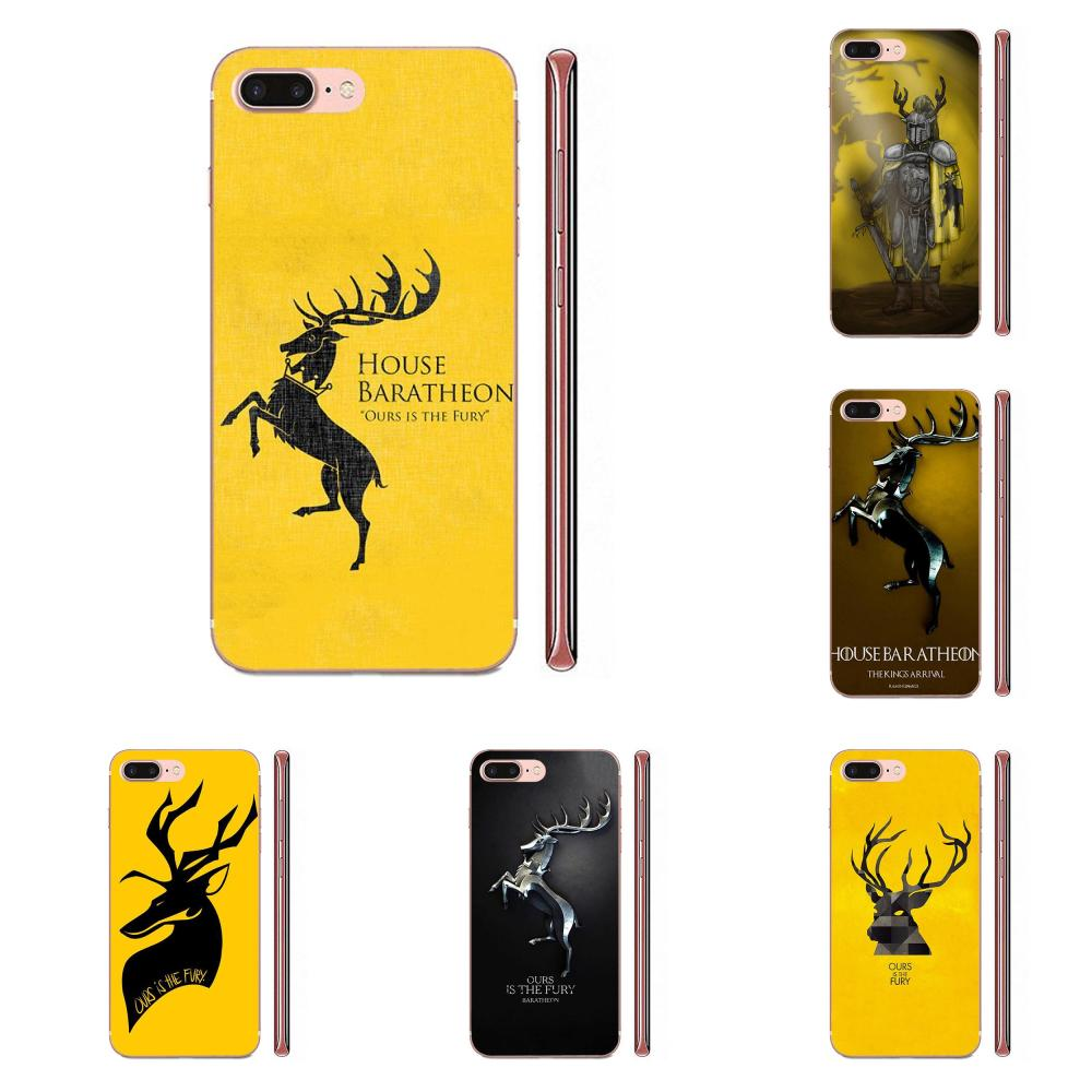 Game Of Baratheon For <font><b>Huawei</b></font> Honor Mate <font><b>Nova</b></font> Note 20 20s 30 5 5I <font><b>5T</b></font> 6 7I 7C 8A 8X 9X 10 Pro Lite Play Soft Accessories Pouches image
