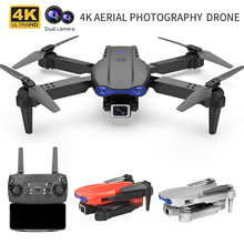 2021 New K3 Drone 4K HD Wide-angle Dual Camera WIFI FPV RC Drone Follow Me RC Quadcopter Toys RC Helicopter Selfie Helicopter