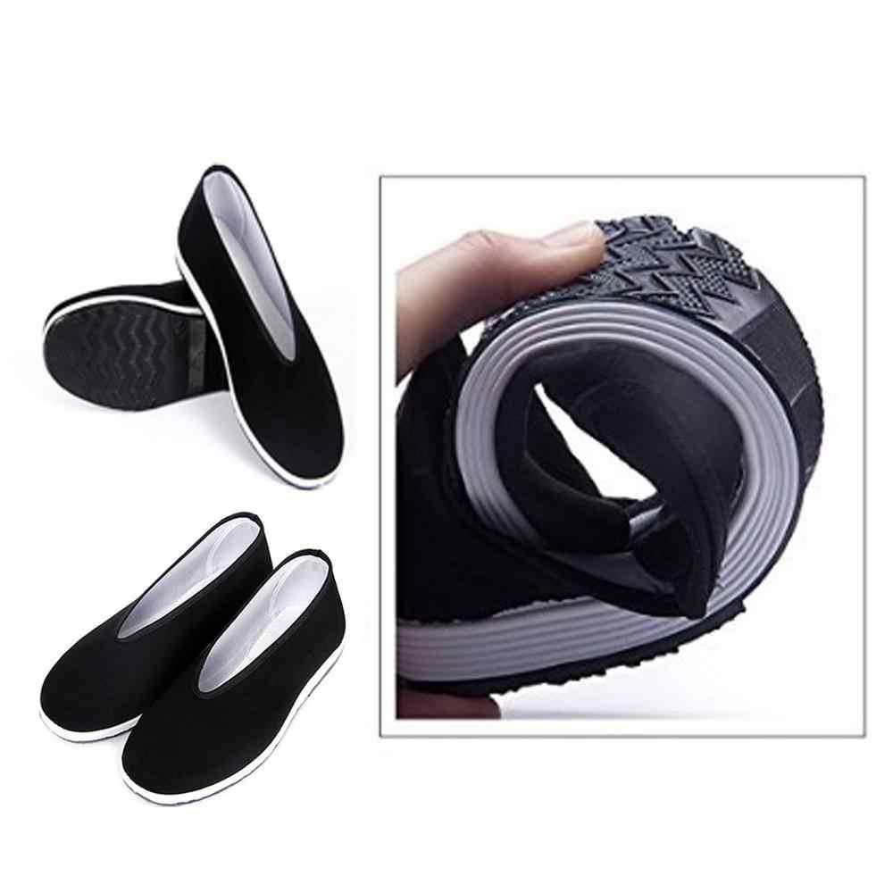 Thái Cực Giày Đen Retro Võ Thuật Kung Fu Giày Truyền Thống Trung Quốc Giày Vải Wushu Thể Thao Thể Dục Đào Tạo Giày Sneaker