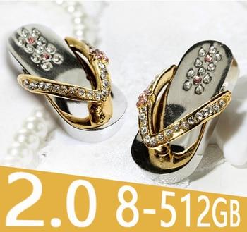 USB 512GB 1TB Jewelry Necklace Gift Shoes Mini USB Flash Drive 2TB Pen Drive Memory Stick 64GB 16GB 32GB Pendrive Pendriver 2.0