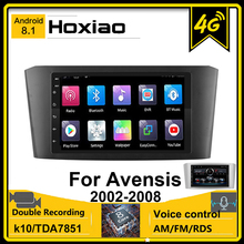 Autoradio 2 Din Android 8.1 Voor Toyota Avensis T25 2002 2008 2007 2006 2005 2004 7 Gps Navigatie rds 4G Bluetooth Car Stereo