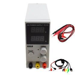 LW-K3010D 30V 10A Mini conmutación regulada DC ajustable fuente de alimentación SMPS canal único 30V 5A Variable entrada 110V o 220V