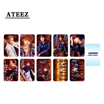 10pcs/set ATEEZ Photocard New album ZERO FEVER Part2 Series (Double Side)