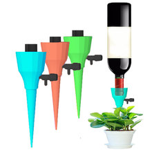 Auto Drip Irrigation Watering System Automatic Watering Spike for Plants Flower Indoor Household Waterers Bottle Drip Irrigation все цены