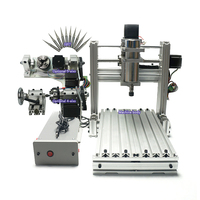 5axis USB Port Mini DIY CNC 3020 Pcb Wood Aluminum Engraving Router Mach3 ER11 Collet CNC Milling Machine for Hobby