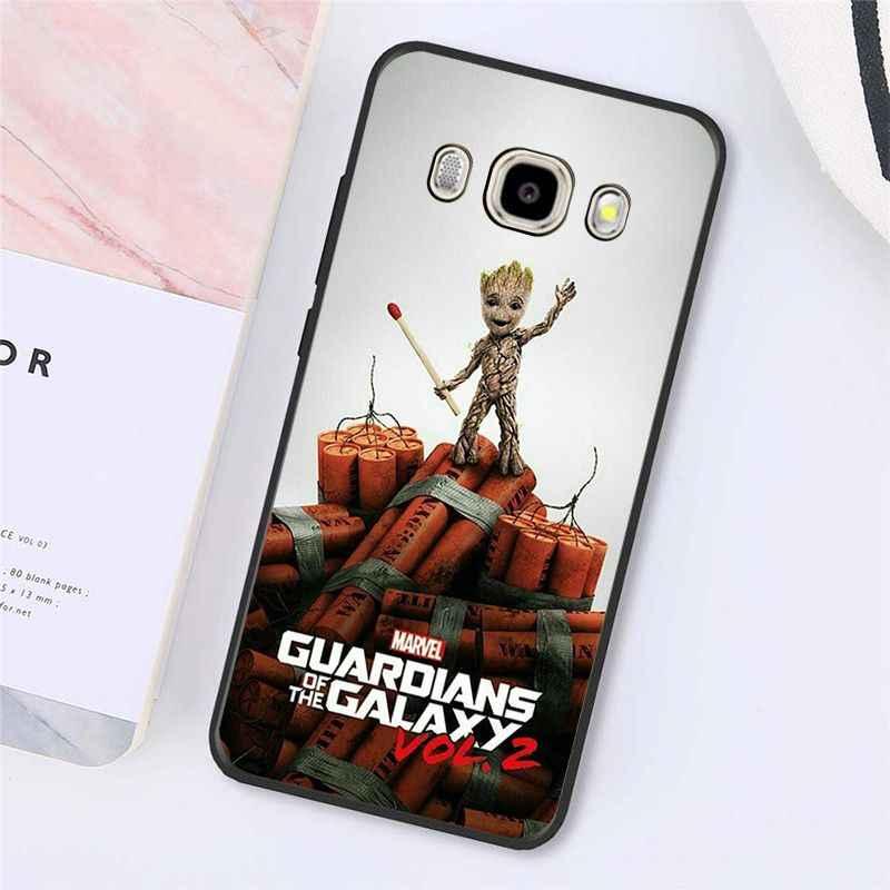 Babaite Guardiani Groot Cassa Del Telefono Della Copertura Posteriore Per Samsung Galaxy J7 J6 J8 J4 J4Plus J7 DUO J7NEO J2 J7 prime