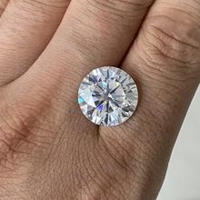 GRA certyfikat luźny moissanit kamień 3carat 9mm IJ kolor VVS1 kamień moissanite tanie tanio meisidian Diament I Kolor Grzywny GRA**** Diamond Excellent Okrągły kształt 3 carats Lab moissanite diamond See the certificate
