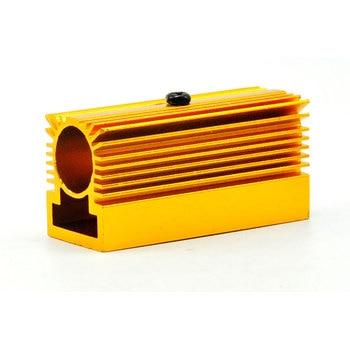цена на Golden Heat Sink Heatsink Holder for Dia 12mm Blue/Green/Red/IR Laser Modules Cooling 20X27X46MM