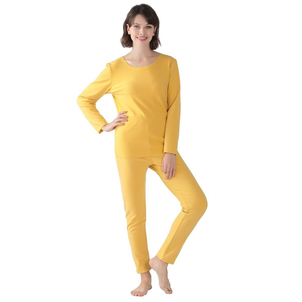 No Trace  Autumn And Winter Women  Plus Size 8XL High Elasticity Long Johns Fever Thermal Underwear  Warm Stes Tops And Pants