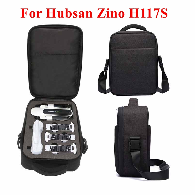 Travel Portable Hard Shell Storage Bag Protect Shoulder Bag Battery Kit Carrying Case For Hubsan X4 Zino H117S Drone Accessories