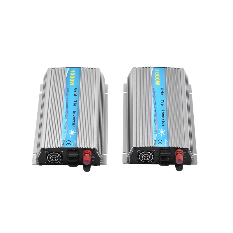 Grid Tie Inverter 1000W MPPT Micro 230V/115V Panel 36 Cells Function Pure Sine Wave Output On Grid Tie Inverter 11-50V DC