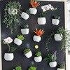 3d Fridge Sticker Magnetic Succulent Plant Fridge Magnet Sticker Bouquet Flower Fridge Potted Plant Sticker For Home Wall Decor 2