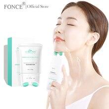 Fonce Double Oller V-Type Neck Cream 120g Massager Nourish Neck Care To Fade Neckline Wrinkle Lifting Firming Brighten Neck Mask все цены