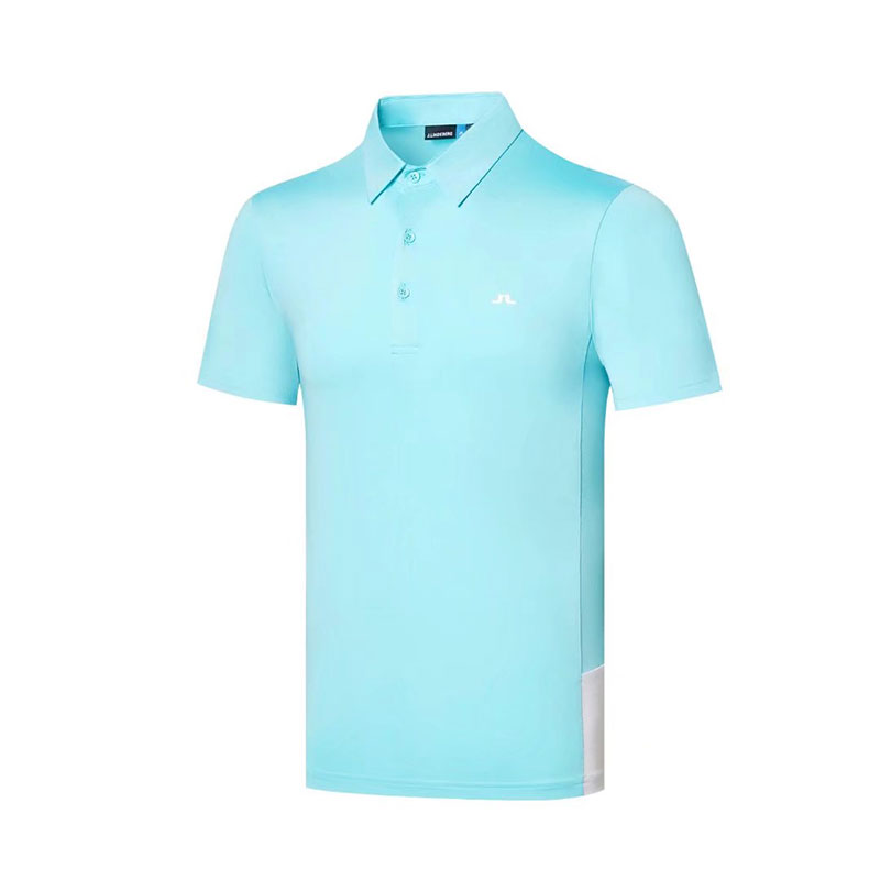 2020 New Summer Golf Apparel  Men's Golf T-Shirt JL Comfortable Breathable Golf Short Sleeve T-Shirt Free Shipping