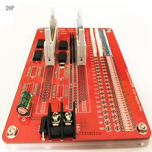 Image 2 - 2.54mm IDC 8 64P  IDC Cable Test Board Open Circuit Short Circuit Tester Card DC 5V Connector