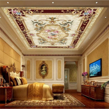 Custom wallpaper 3d murals HD European style ceiling floor painting wall papers home decor papel de parede mural 3d wallpaper все цены