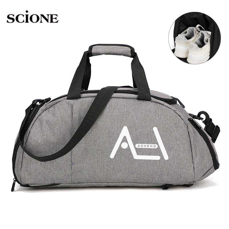 Women Gym Bags Sac De Sport For Fitness Training Men Sporttas Sports Backpack Travel Bag Yoga Luggage Mochila Shoulder Tas XA20A