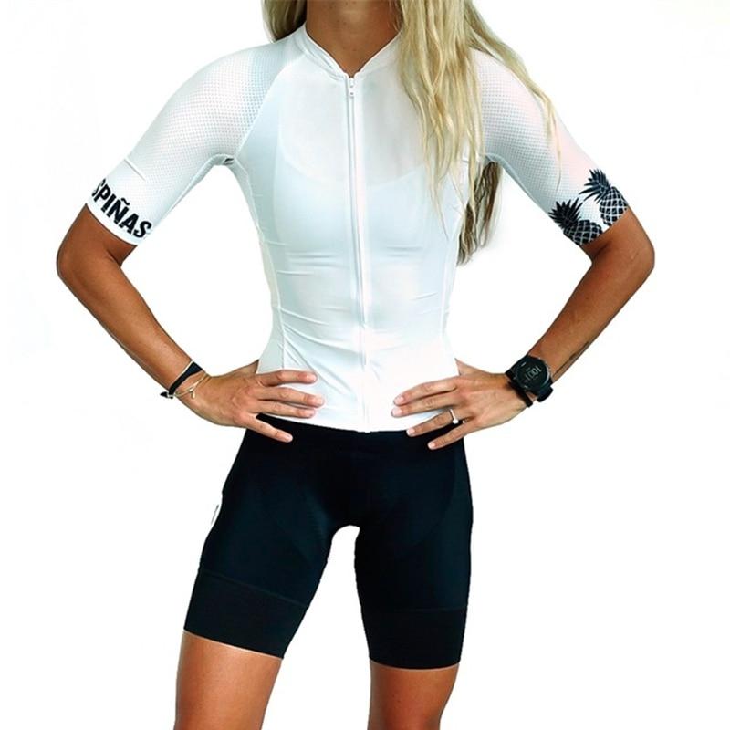 Trespinas Cycling Suit Woman Team Cycling Jersey Set Summer Short Sleeve Shirt Bicycle Shorts MTB Racing Ropa Ciclismo Quick-dry