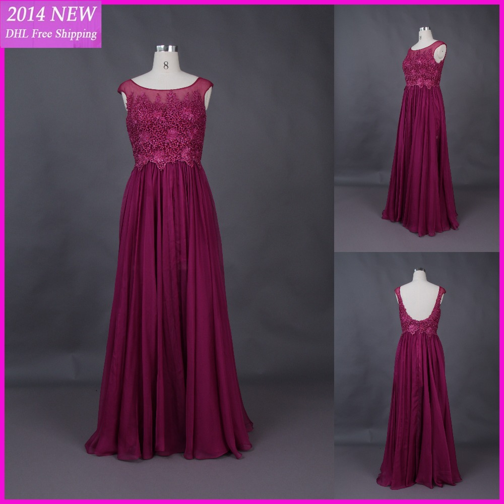 Real Pictures Deep Red Chiffon Formal Custom Evening Dresses Lace Appliques A Line Long Gowns Free Shipping 2019 Pageant Gowns